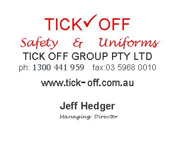 Tick Off Safety and Uniforms